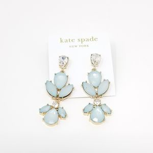 Kate Spade Blue Stoned Earrings
